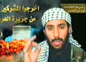 Ahmed Alhaznawi in his martyr video.